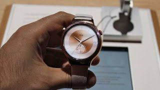Huawei Watch Jewel and Elegant - CES 2016 - smartphone huawei
