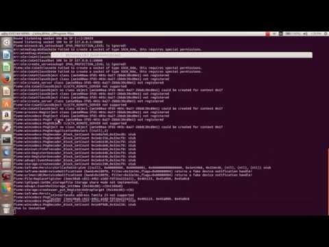 How to install a windows application on Ubuntu  using wine