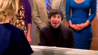 The Big Bang Theory chanson d'howard pour bernadette fr