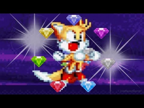 Sonic Mania - SUPER TAILS GAMEPLAY! | Studiopolis Zone