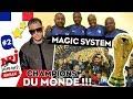 Les Magic System chantent pour léquipe de France 2018 #NRJ Summer Break