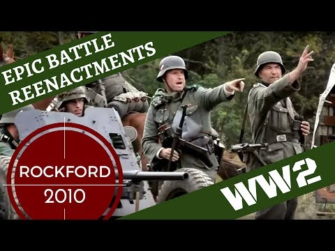 Epic WW2 Reenactment - Rockford 2010 [OLD VRSN]