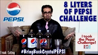 The 8 Liter Pepsi Challenge (Over 2 Gallons) *DO NOT TRY* | FreakEating vs The World 86