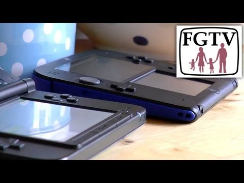 2DS vs 3DS XL & 3DS - Big Review - Time Lapse Battery. Screen Brightness. Volume/Sound