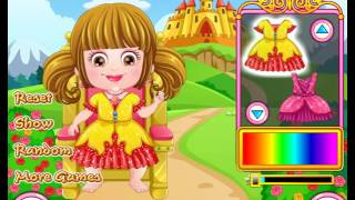 Play Baby Hazel Royal Princess Dressup game