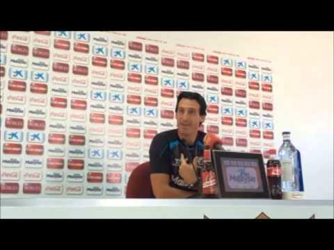 Unai Emery habla sobre el Atlético de Madrid
