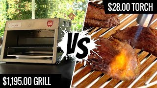 $1,195.00 Grill VS $28 Torch - Best way to sear SOUS VIDE STEAKS - Series E2