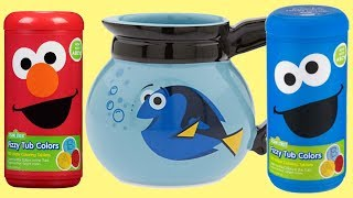 SESAME STREET Fizzy Color with Elmo & The Cookie Monster