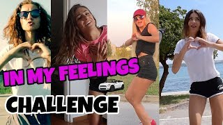 YOUTUBERICE NAPRAVILE IN MY FEELINGS CHALLENGE | Two Crazy Beauties & Gloria Berger & xniks2x
