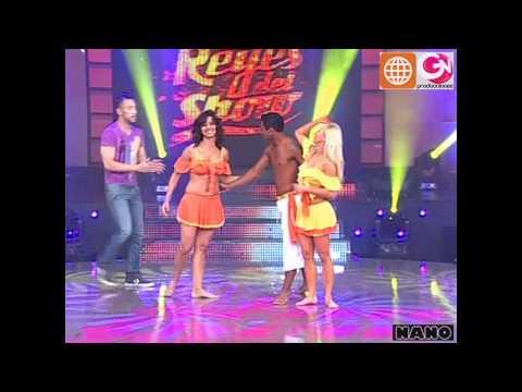 Lambada: Belén Estevez y Gian Frank c/ Maricielo Effio (El Gran Show: Reyes del Show 04-12-2010)
