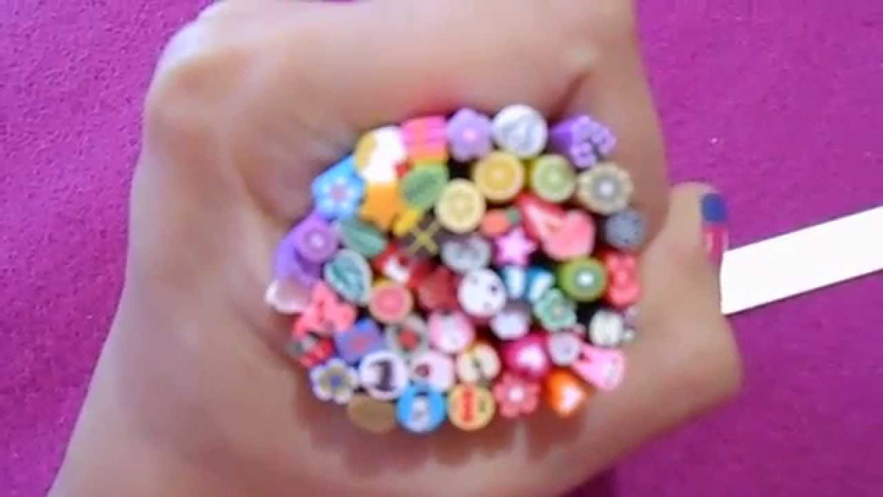 New Nail Art Fimo Canes Rods