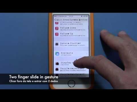 Como configurar o ACTIVATOR ? Iphone. ipad ipod touch Tweak ! Portugues Brasil!