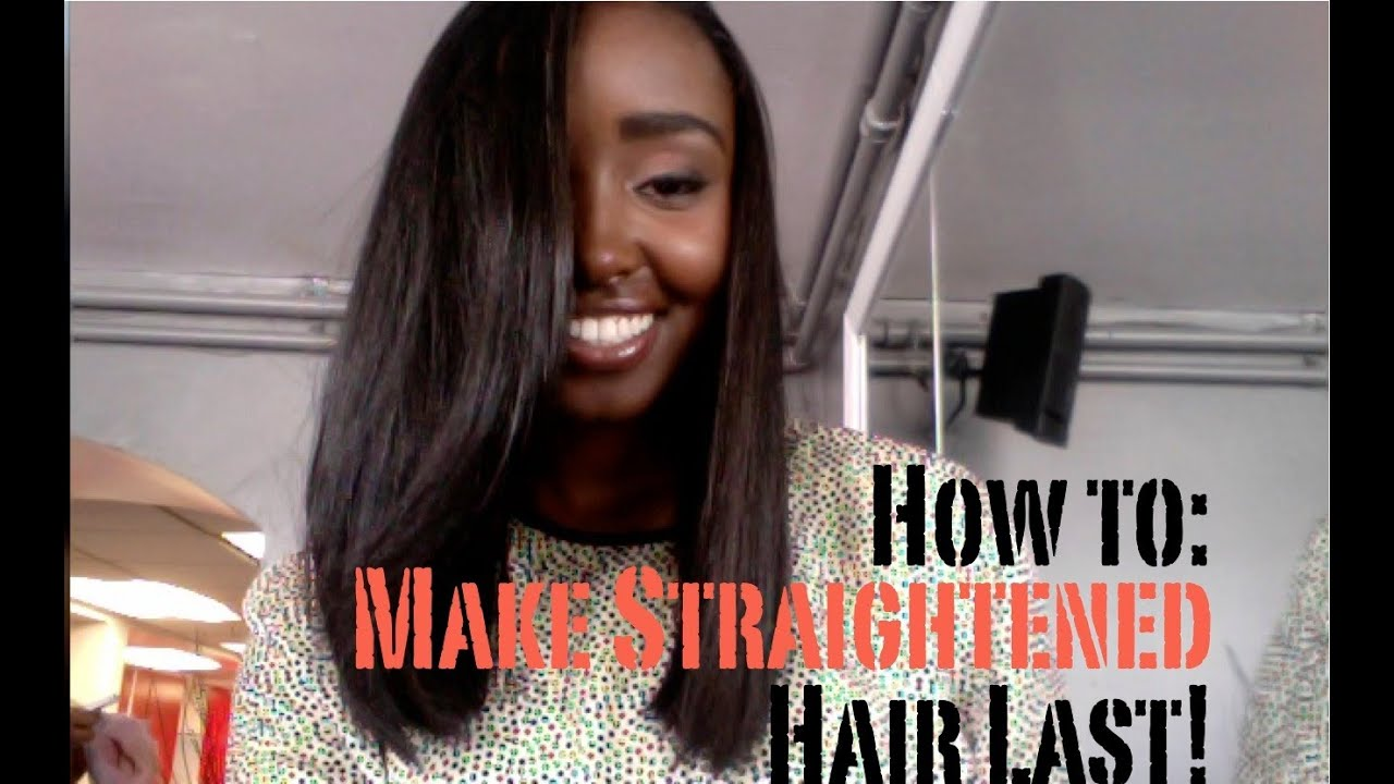 What To Use For Natural Hair When Straightening
