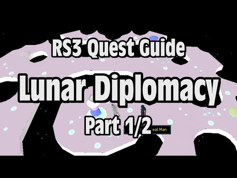 RS3: Lunar Diplomacy Quest Guide – RuneScape (Part 1/2)