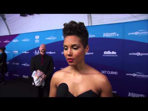 Alicia Keys Interview - Unite 4 Good For Humanity 2014