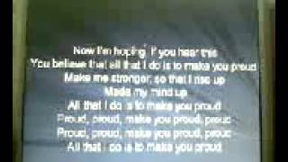 JLS-Proud (LYRICS)