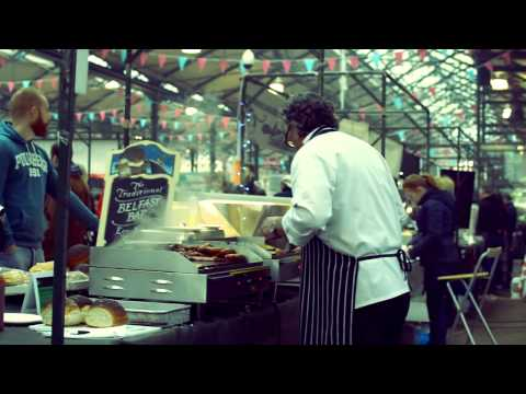 Video: St George's Market hosts special St Patrick's Day dancing