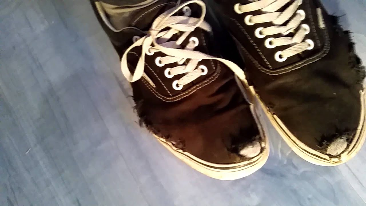 Vans Authentic Worn Out Trashed Vans Authentic - Well