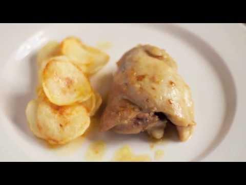 Pollo a la cerveza en la olla rápida (WMF)