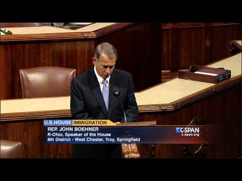 Speaker John Boehner on Executive Action on Immigration (C-SPAN)