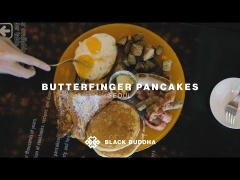 Butterfinger Pancakes | Black Buddha (Seoul)