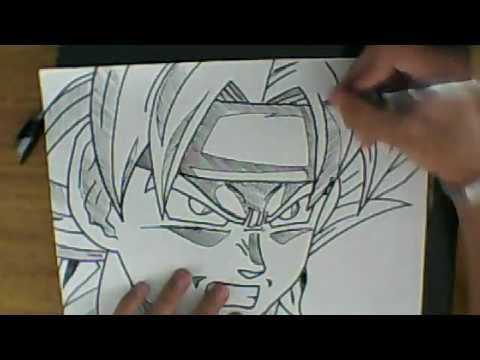 Ssj Drawing How to Draw Bardock Ssj
