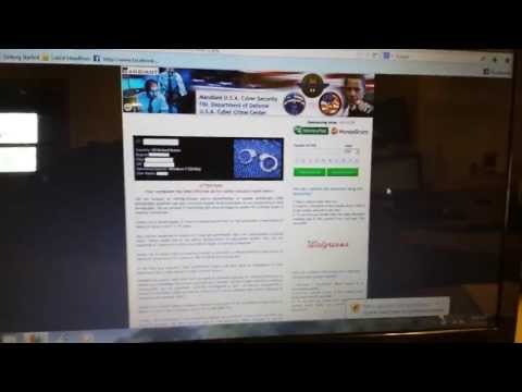 How to easily Remove Mandiant U.S.A. Cyber Security MoneyPak/MoneyGram Virus