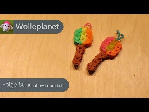 Rainbow Loom Lolli Mit Loom video