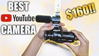 BEST AFFORDABLE YOUTUBE CAMCORDER Camera Lens Micr