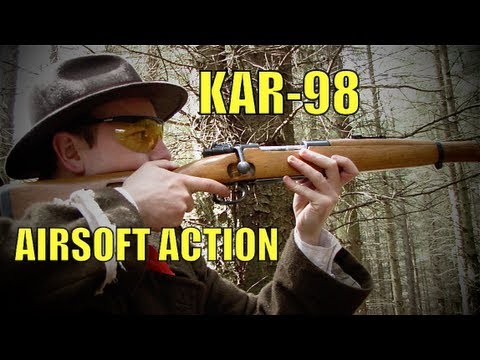 Airsoft War AK47 M14 M1A1 MP41 POW Scotland