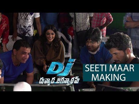 Seeti Maar Song Making - DJ Movie Making | Allu Arjun, Pooja Hegde thumbnail