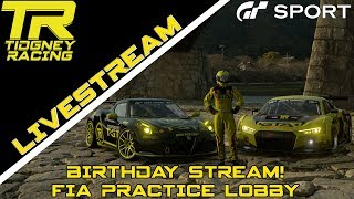 Gt Sport Livestream Birthday Stream Fia Practice Lobby