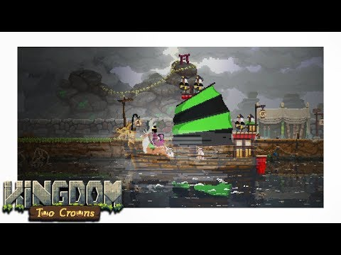 Sailing To The 3rd Island - SHOGUN - Kingdom Two Crowns Part 2 Gameplay Let's Play
