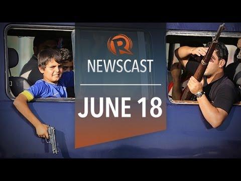 Rappler Newscast: ISIS inches closer, 'enraged' Vietnam, Japan visa