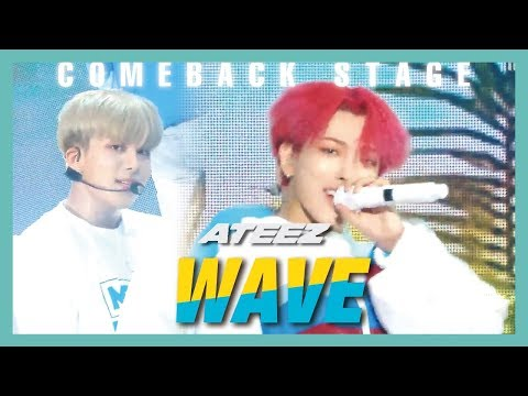 Download HOT ATEEZ - WAVE, 에이티즈 - WAVE  Show  core 20190615 Mp4 baru