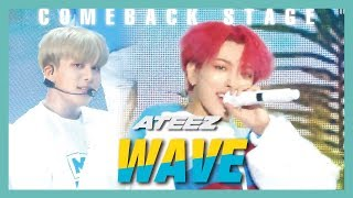 [HOT] ATEEZ - WAVE, 에이티즈 - WAVE  Show Music core 20190615