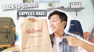 Back-To-School Supplies Haul 2017 (Philippines) | Maverick Del Mundo