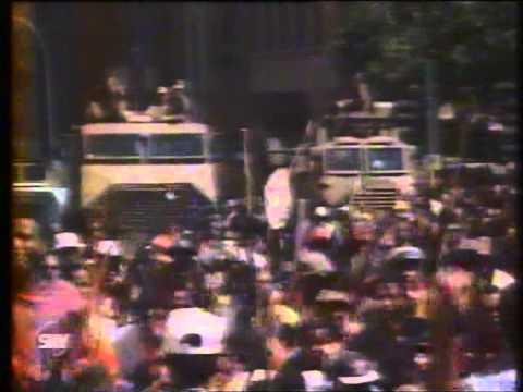 Zulu March on Johannesburg 29 MARCH 1994