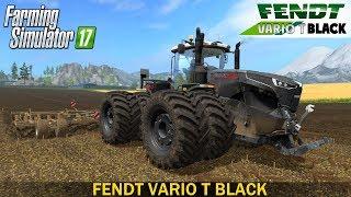 Farming Simulator 17 FENDT VARIO T BLACK TRACTOR