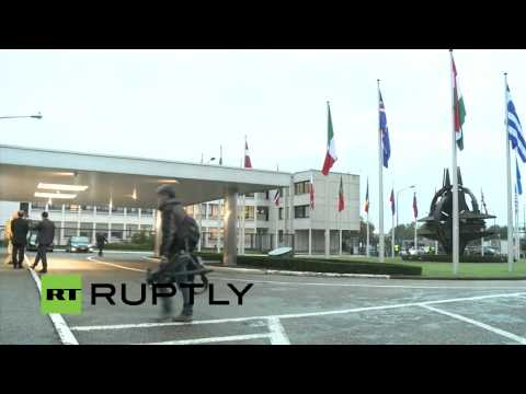 LIVE: NATO defence ministers meet in Brussels - Doorstep by Stoltenberg