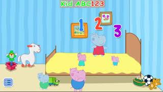 Five Little Monkeys songs with Pig Hippo Kids Baby songs