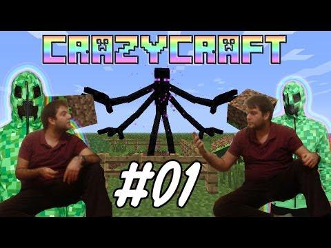 CrazyCraft Bölüm 1 | NE GARİB BİR MODPACK