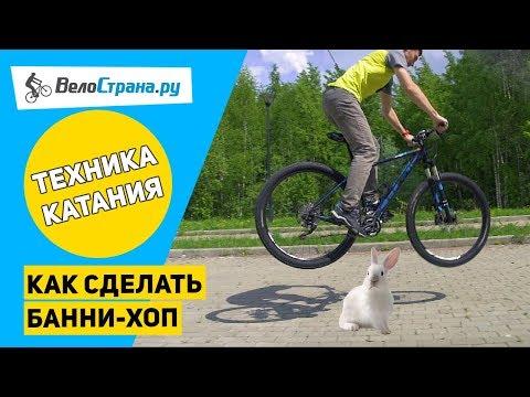 Как сделать банни-хоп // Техника езды на велосипеде