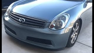 G35 | All Fit Lip and eBay Lip Spoiler Install