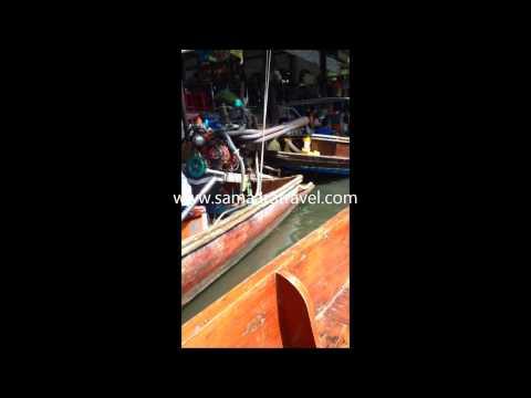 Floating market orginal vedio upload by samaara travel