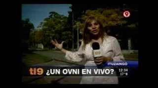 OVNI en Television Noticias (Canal 9_Argentina)
