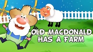 Old Mac Donald lyrics with lead vocal | Nursery Rhymes TV for Kids | Ultra HD 4K Music Video Full