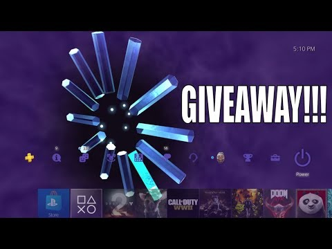 PS2 on PS4 - PS4 Dynamic Theme GIVEAWAY & Review