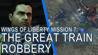Starcraft II: Wings of Liberty Mission 7 - The Great Train Robbery