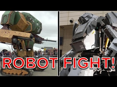 Huge robots battling to the death? Count us in (Tomorrow Daily 202)